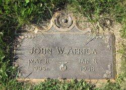 John W Africa