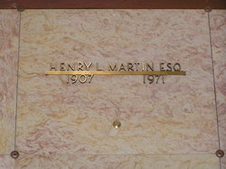 Henry Lysons Martin