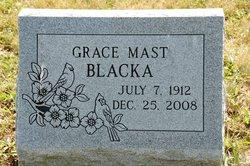 Grace <i>Mast</i> Blacka