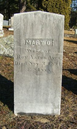 Mary Olive <i>Cleaves</i> Ayer