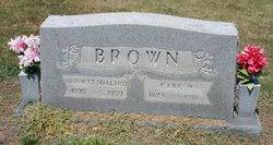 Harriett <i>Mallard</i> Brown