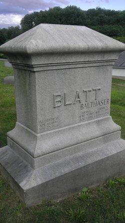 Anna L <i>Blatt</i> Balthaser
