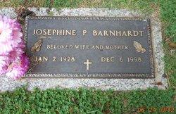 Josephine P <i>Poston</i> Barnhardt
