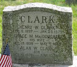 Grace M <i>MacDougall</i> Clark