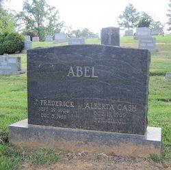Alberta <i>Cash</i> Abel