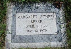 Margaret <i>Scherf</i> Beebe