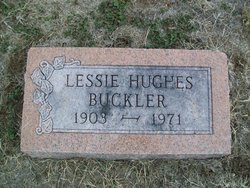 Lessie <i>Hughes</i> Buckler