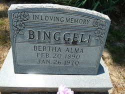 Bertha Alma Binggeli