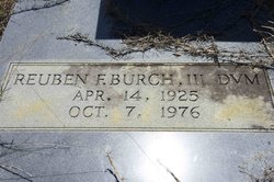 Dr Reuben Flournoy Burch, III