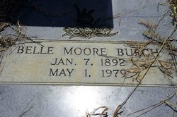 Belle <i>Moore</i> Burch
