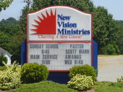 New Vision Ministries Church Cemetery