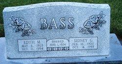 Sidney George Sid Bass