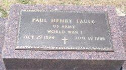 Paul Henry Faulk