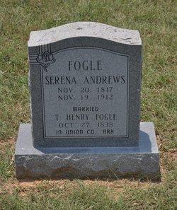Serena <i>Andrews</i> Fogle