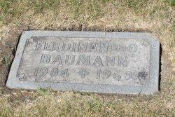 Ferdinand O Baumann