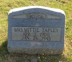 Mittie <i>Adcox</i> Tapley