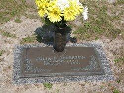 Julia Ellen <i>Kennedy</i> Epperson