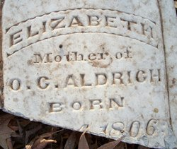 Elizabeth <i>Lawrence</i> Cornover Aldrich