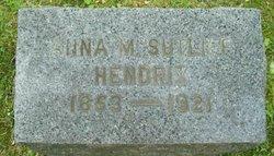 Anna M. <i>Sutliff</i> Hendrix