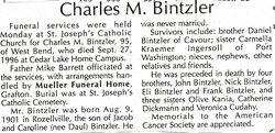 Charles Mathew Charlie Bintzler