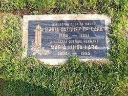 Maria <i>Vasquez</i> Lara