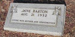 Jane <i>Davis</i> Barton