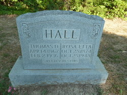 Rosie Etta <i>Rose</i> Hall