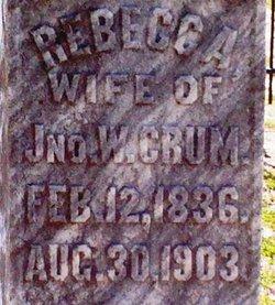 Rebecca Ann <i>Hartzog</i> Crum