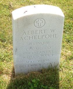 Albert W. Achelpohl