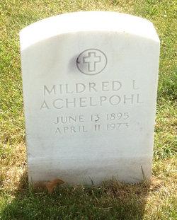 Mildred L. Achelpohl