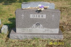Dr John Paul Dirr, Sr