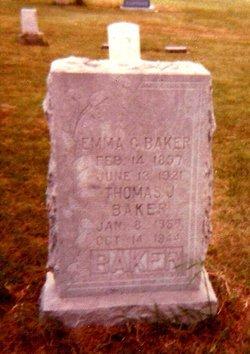 Emma Clementine <i>Harris</i> Baker