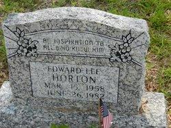 Edward Lee Horton