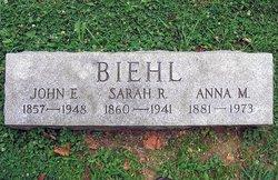Sarah R <i>Young</i> Biehl