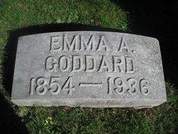 Emma A <i>Aigley</i> Goddard