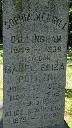 Mabel Eliza <i>Dillingham</i> Porter