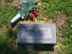 Martha <i>Meredith</i> Napper
