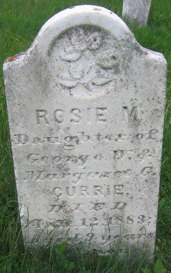 Rosie M Currie