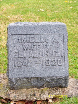 Amelia A <i>Borden</i> Aldrich