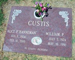 Alice Pauline <i>Hanneman</i> Custis