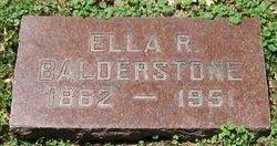 Ella R. Balderstone
