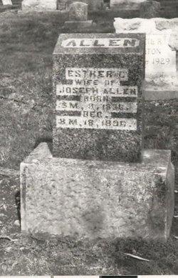 Esther C. <i>Wilson</i> Allen