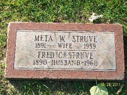 Meta Wilhelmina <i>Hugo</i> Boldenweck Struve