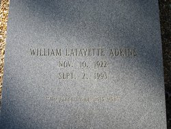 William Lafayette Adkins