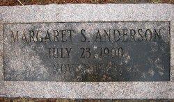 Margaret Elizabeth <i>Shoup</i> Anderson