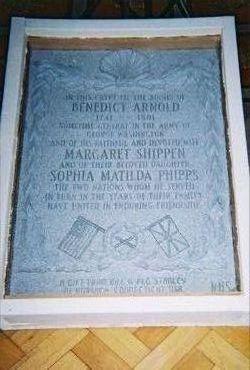 Gen Benedict Arnold