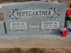 Minnie Minerva <i>Cashion</i> Hofegartner