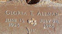 Gloria T. Allman