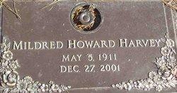 Mildred <i>Howard</i> Harvey