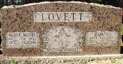 Agnes <i>Moore</i> Lovett